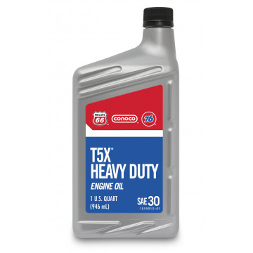 T5X® Heavy Duty Motor Oil, 30 (1 US Quart)